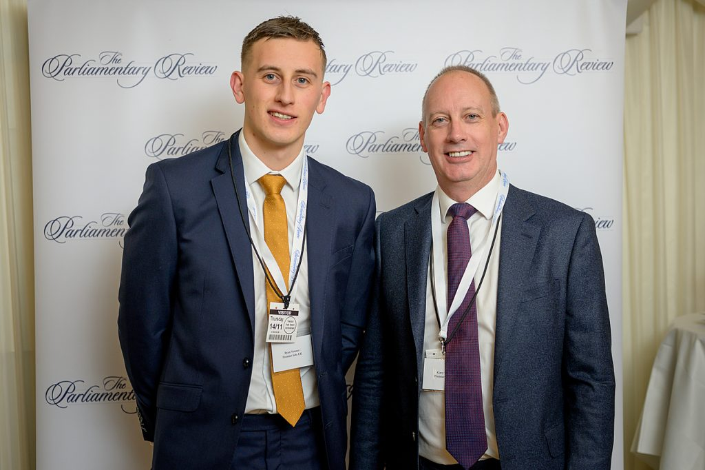 Gary Venner and Ryan Venner at Parliamentary Review