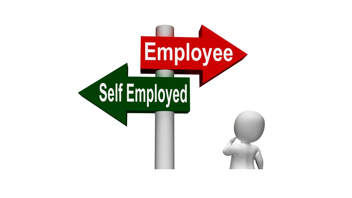 self employed or employed